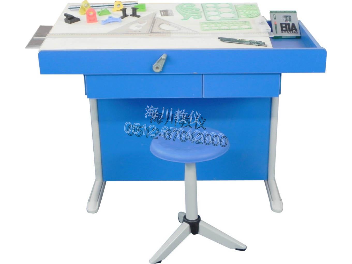 钢木结构工程绘图桌产品图片