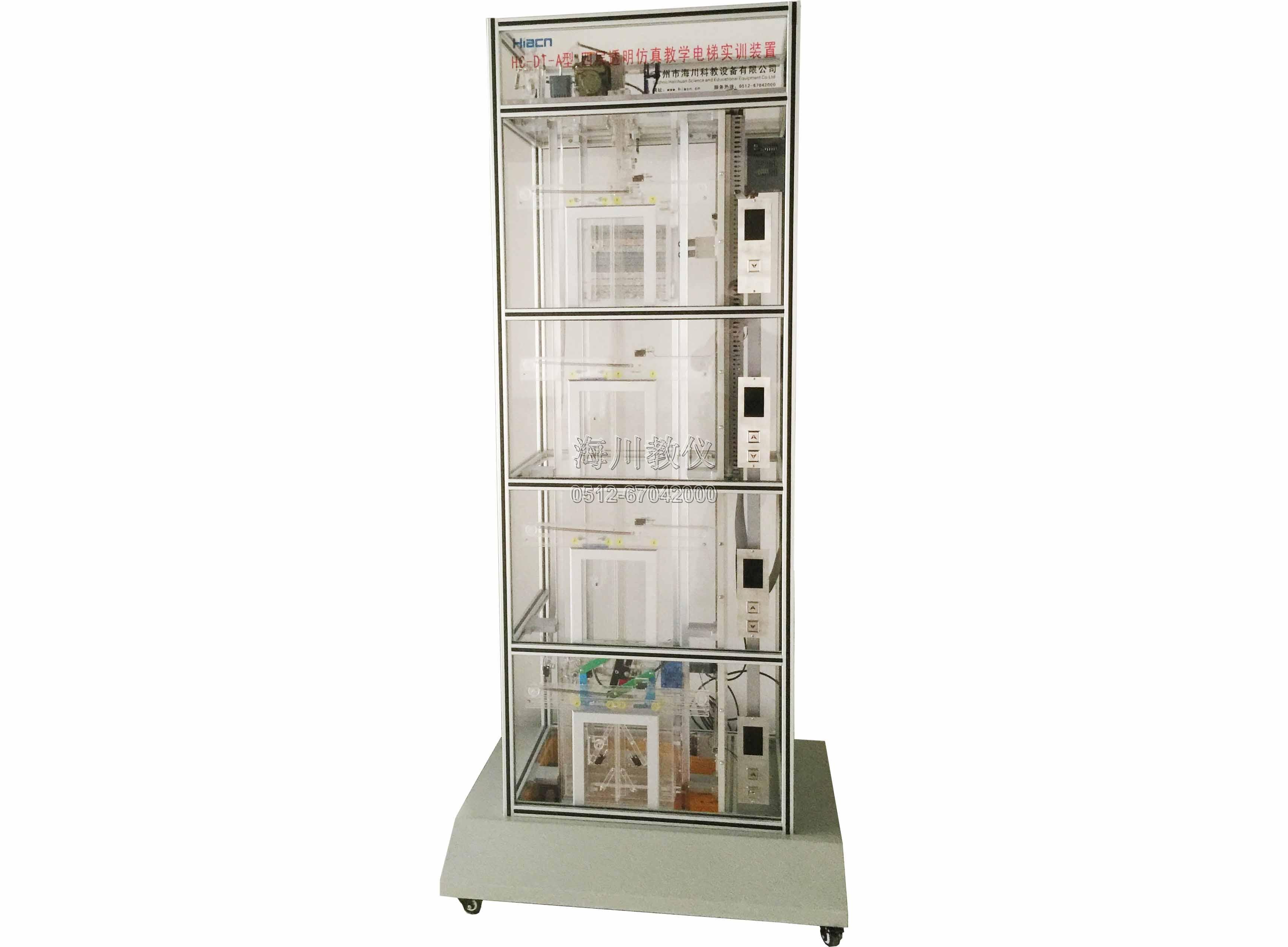 四层透明仿真教学电梯实训装置产品图片