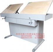 双座工程制图桌产品图片