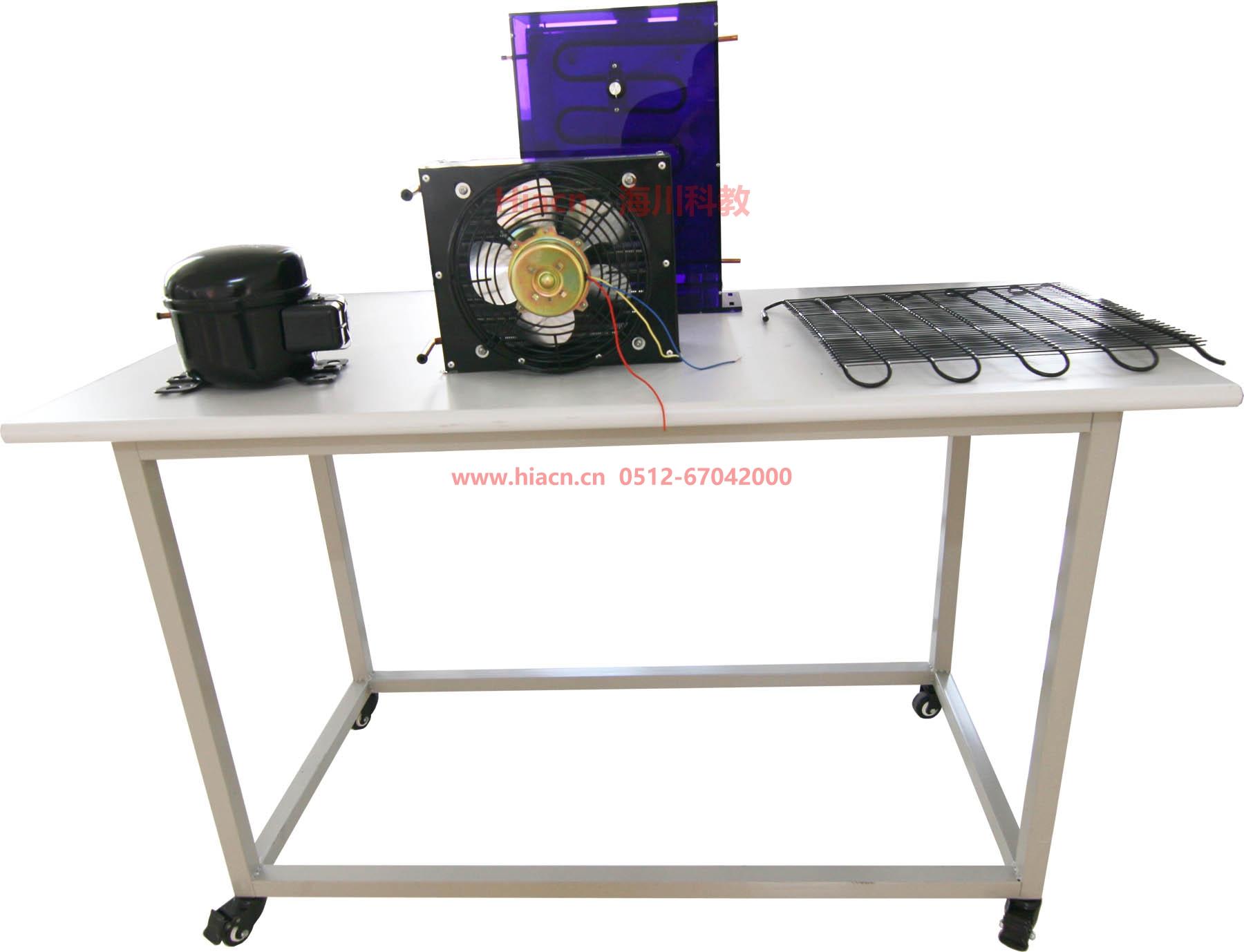 现代空调冰箱系统组装实训平台产品图片