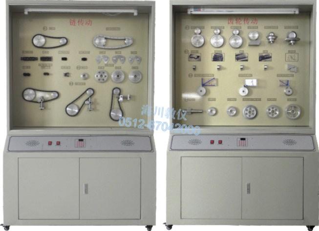 精选铝制《机械零件设计》示教陈列柜产品图片