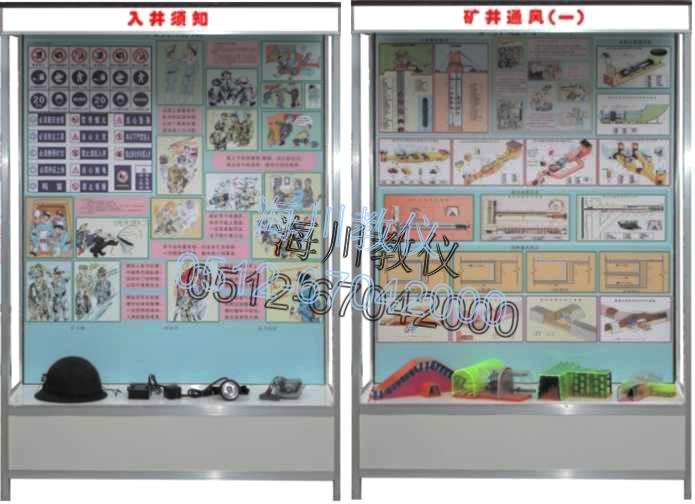 煤矿安全示教陈列柜产品图片