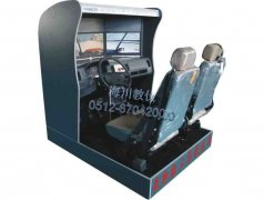 HC-QMN-E型 宽视角三屏驾驶模拟器产品图片