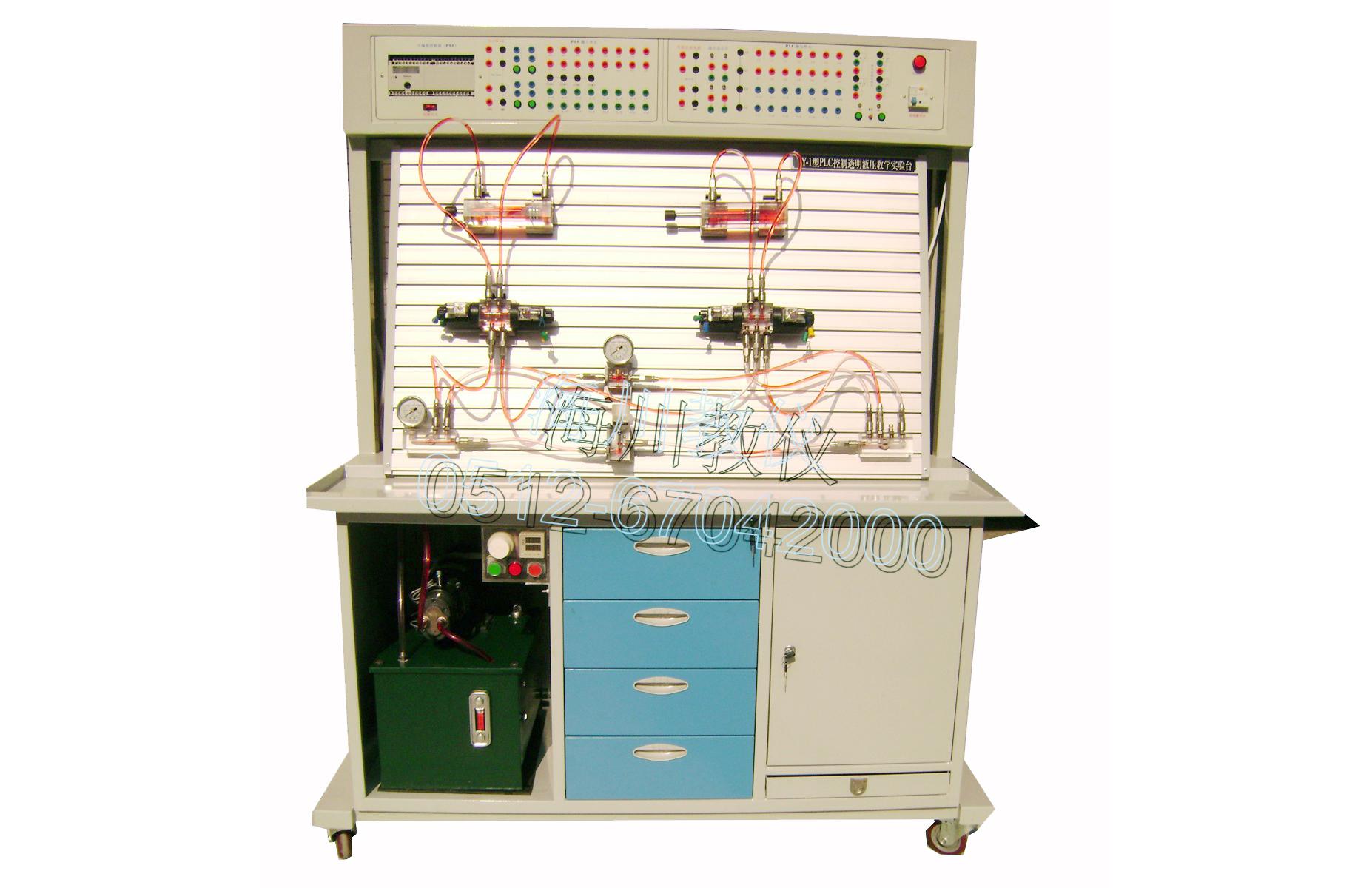 双组型 透明液压综合教学实验台产品图片