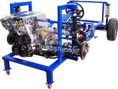 HC-QDB-B型  汽车发动机变速器底盘实验装置产品图片