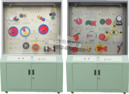 机械基础示教陈列柜产品图片