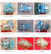 透明减速器模型产品图片