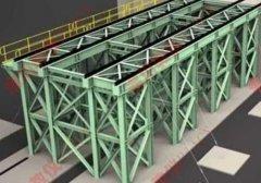 钢结构模型及钢结构基础模型产品图片