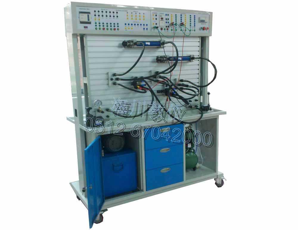 双面液压(工业)气动PLC控制实验台产品图片
