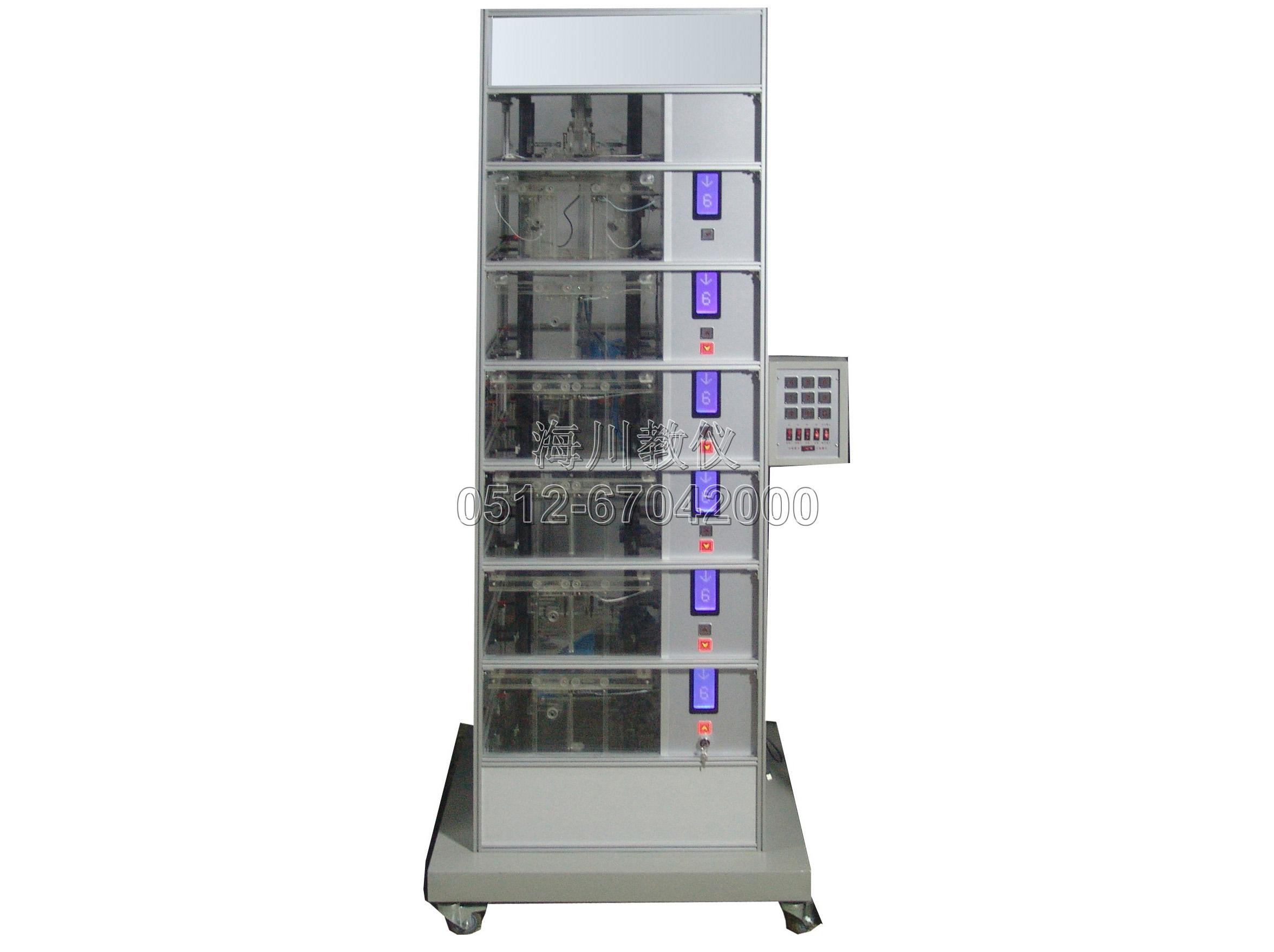 六层透明仿真教学电梯实训装置产品图片