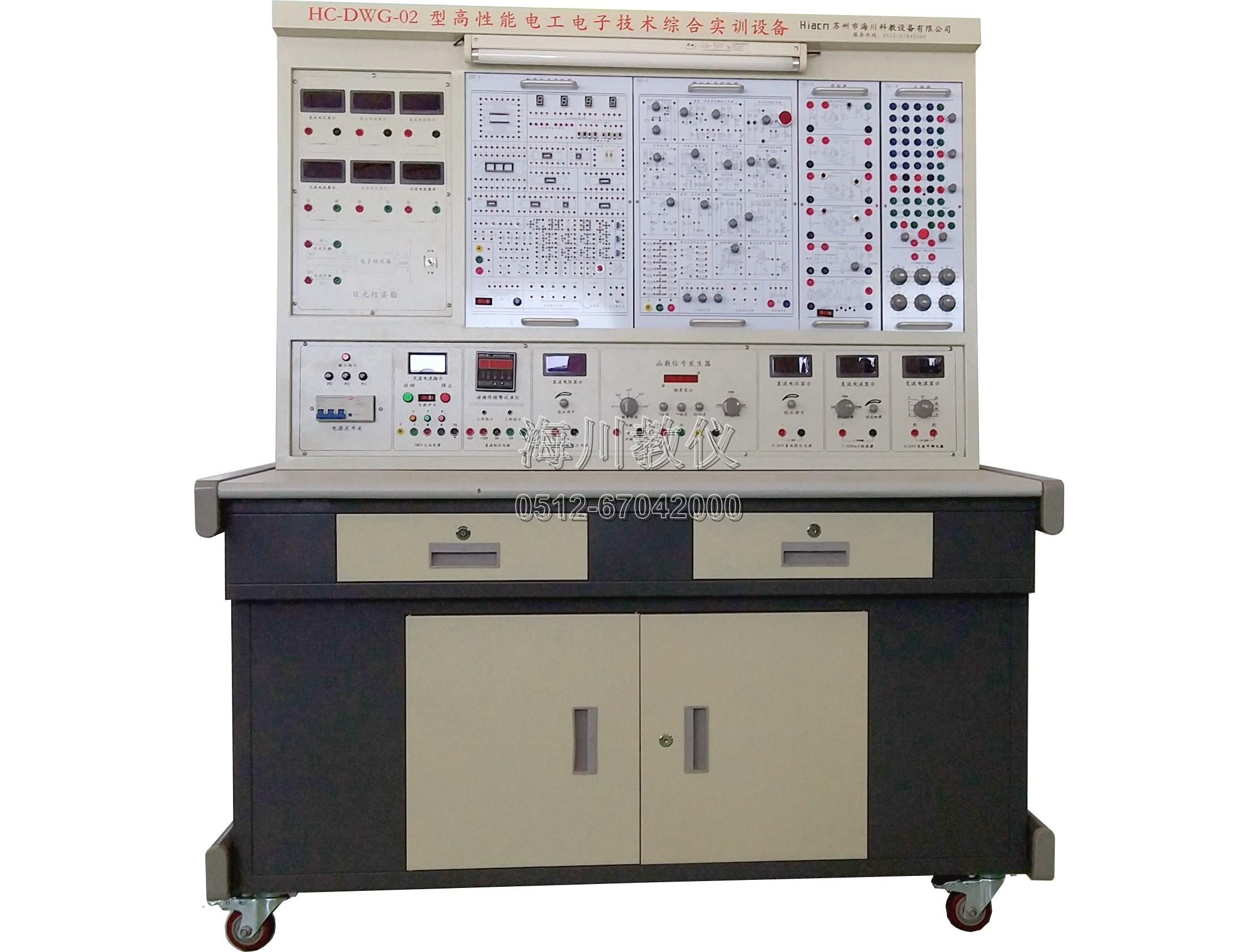 高性能电工电子技术综合实训设备产品图片