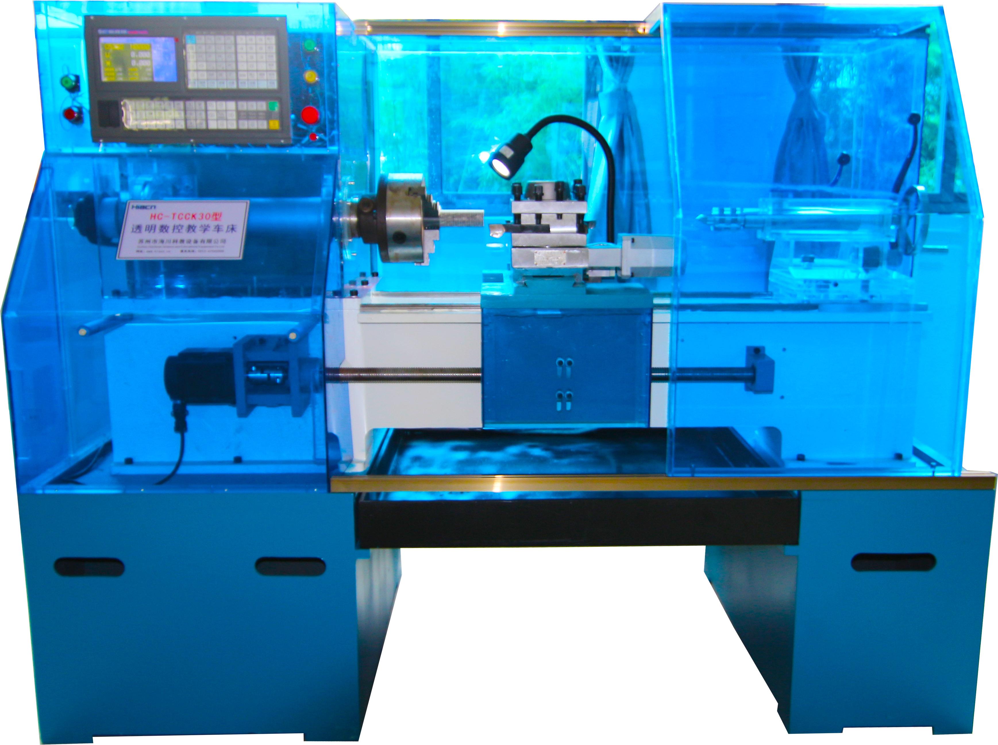 透明数控教学车床产品图片