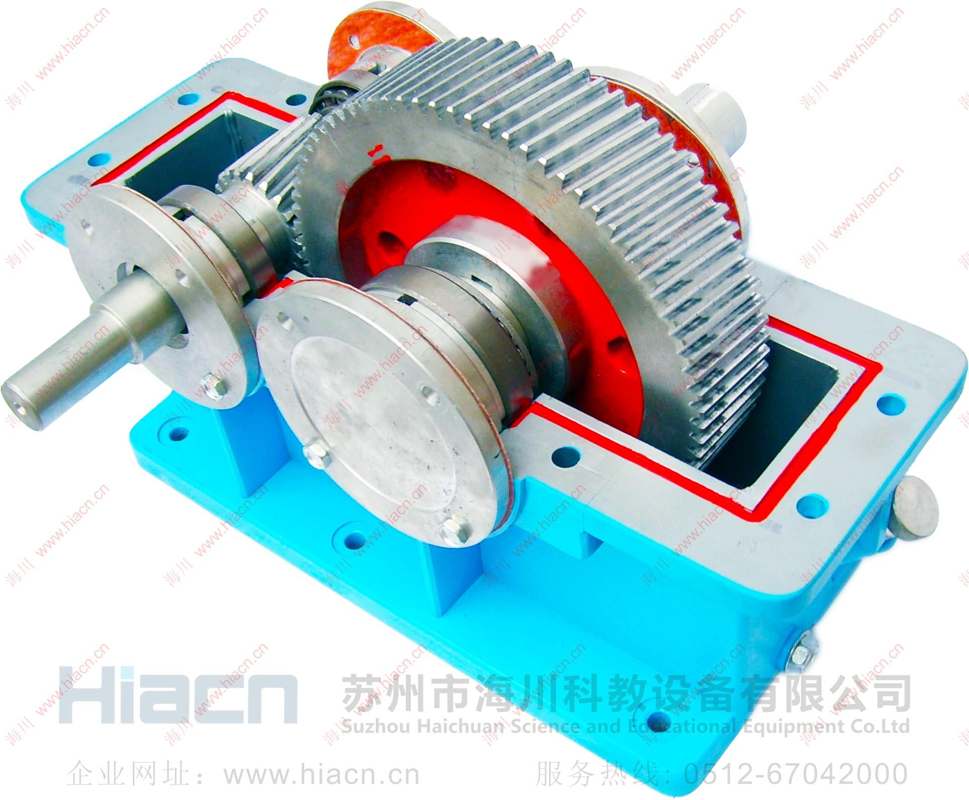 大型拆装减速器模型产品图片